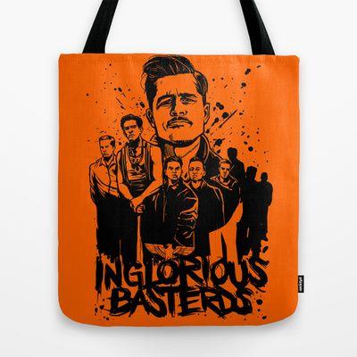Inglourious Basterds, Bastardi senza gloria Tote Bag by sgrunfo - $22.00