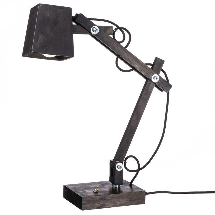 Модель: TL5 Цена: 2100 грн TL5 является самой высокой настольной лампой, что дает ей прекрасные технические преимущества. Одной такой лампой можно осветит весь рабочий стол. Фактура дерева, экологически чистые покрывные материалы, и оцинкованные метизы отлично сочетаются в этой модели.