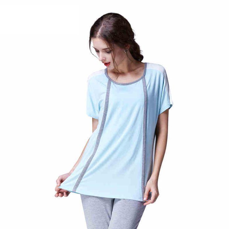 MamaLove лето Материнство пижамы С Коротким рукавом Материнства Пижамы Кормящих Пижамы Кормящих Пижамы для Беременных Женщин
