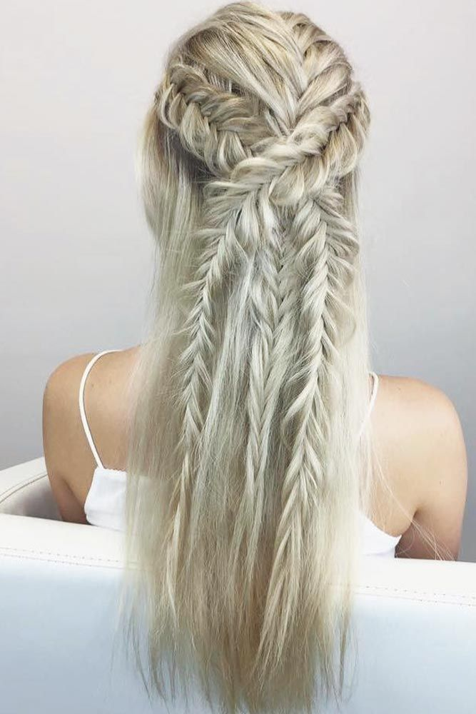 Try 42 Half Up Half Down Prom Hairstyles Lovehairstyles Com Half Up Hair Hair Styles Half Up Half Down Hair