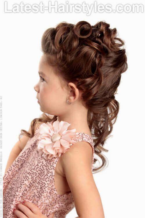 elegant easy little girl hairstyles image-Lovely Easy Little Girl Hairstyles Photo