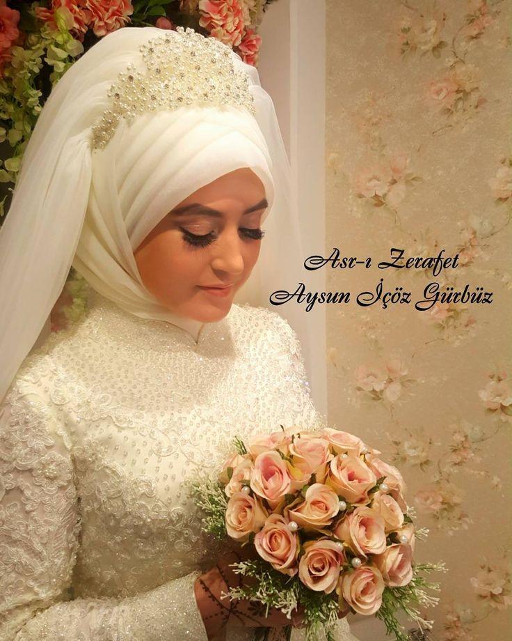 Makyaj ve Baş Tasarımı Aysun İçöz Gürbüz  #fashion #style #design #model #dress #moda #tasarim #giyim #girl #girlsjustwannahavefun #hijab #aysunicözgürbüz #asrızerafet #gelinlik #düğün #gelin #gelinlikmodelleri #wedding #weddingdress #instagood #instacool #instafashion #turkey #world #europe # http://gelinshop.com/ipost/1505306267501250266/?code=BTj7BMolMba