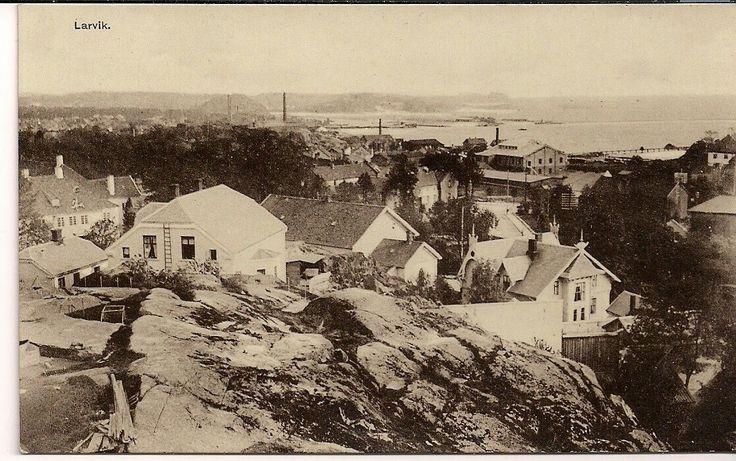 Vestfold fylke-Larvik. Utg Chr Haagaas tidlig 1900-tall