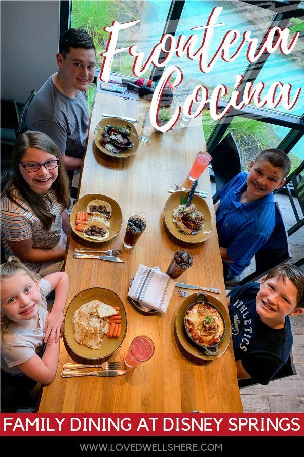 Frontera Cocina Family Dinner At