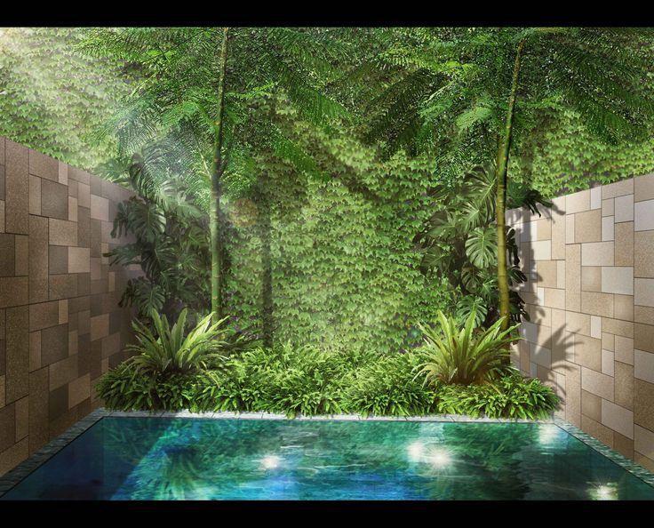 Landscape Illustration   Bali - Indonesia   2013   Design by Kubudaun