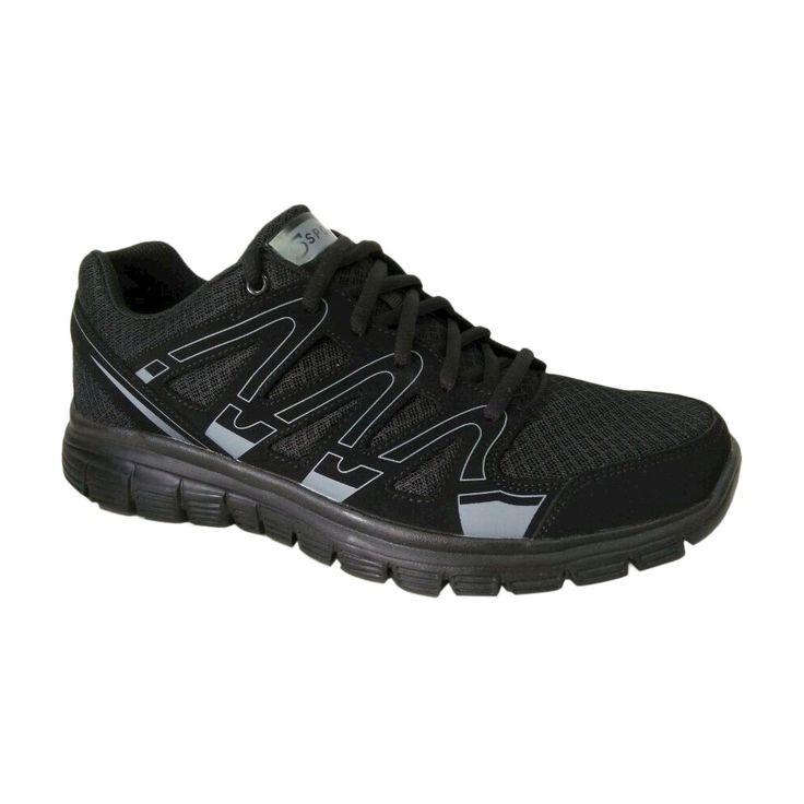 Men's S Sport By Skechers Striker Performance Athletic Shoes Black 10.5 - C9 Champion