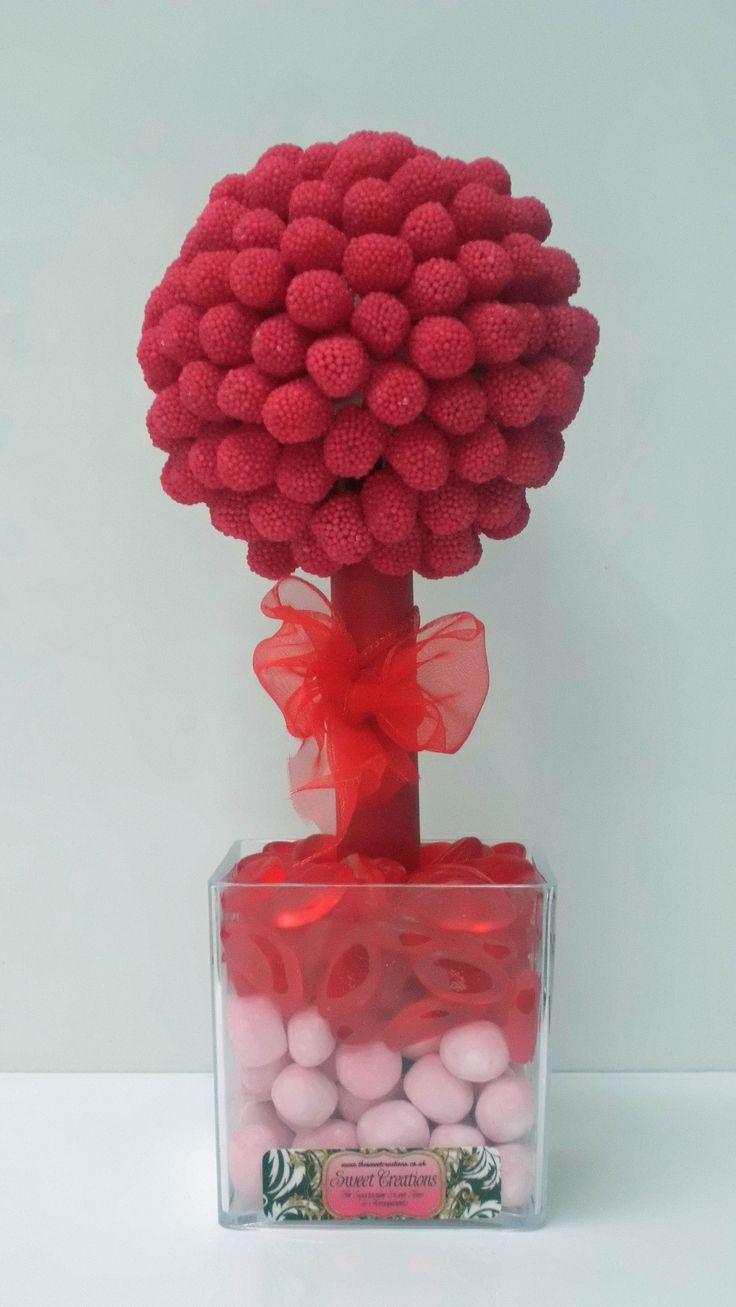 Red Bobble Sweet Tree