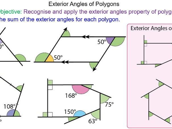 Best 25 exterior angles ideas on pinterest interior and - How to find exterior and interior angles ...