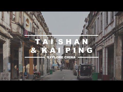 China Heritage: Overseas Chinese Towns - Tai Shan & Kai Ping - YouTube