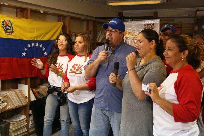 Gobierno bolivariano continúa despliegue del Carnet de la Patria en Carabobo