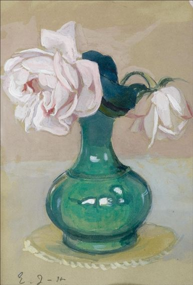 EERO JARNEFELT Juhannusruusu (Blossoms, 1912)