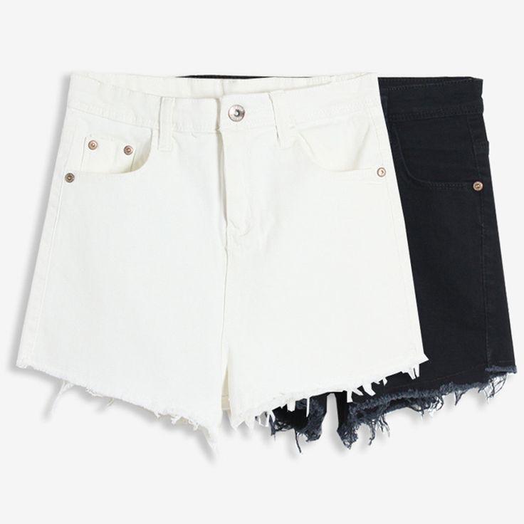#aliexpress, #fashion, #outfit, #apparel, #shoes #aliexpress, #GOPLUS, #White, #Celana, #Pendek, #Wanita, #Casual, #Fashion, #Short, #Jeans, #Cintura, #Tassel, #Denim, #Waisted, #Black, #Shorts, #C2328