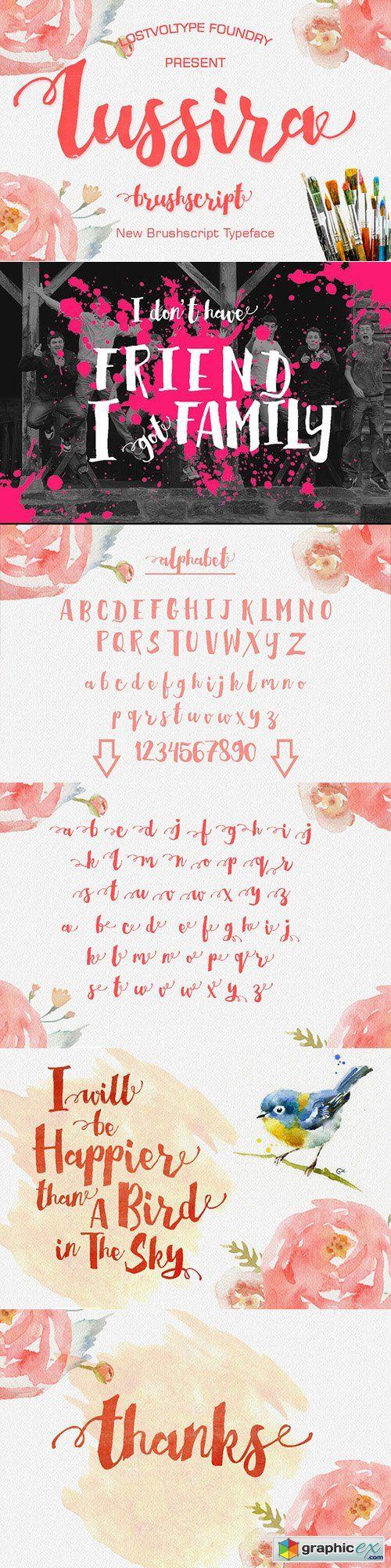 Lussira Brushscript