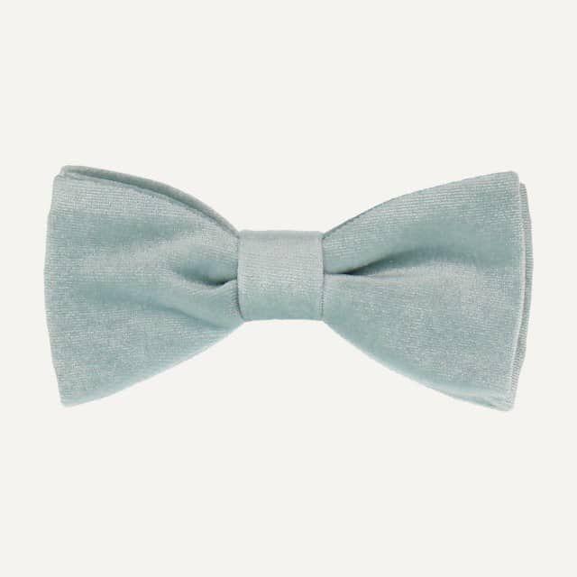 Mrs. Bow Tie - duck egg blue.