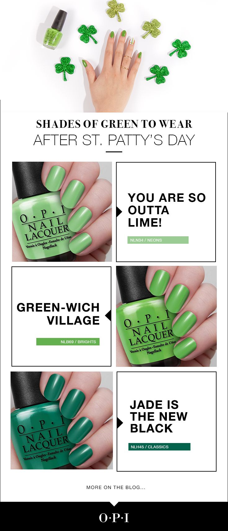 25 best A Green Scene images on Pinterest | Opi nails, Chic nails ...