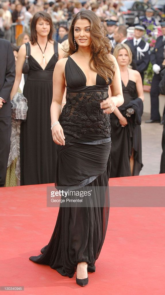 Aishwarya Rai during 2005 Cannes Film Festival - 'Lemming' Premiere in Cannes, France.