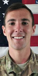"""Army CPL Dillon C. Baldridge, 22, of Youngsville, North Carolina. Died June 10, 2017, supporting Operation Freedom's Sentinel. Assigned to HQ&HQ Battery 3rd Bn 320th Field Artillery Regiment 101st Airborne Div (Air Assault) Ft Campbell KY. Died of wounds sustained during a so-called """"Green-on-Blue Attack"""" when an Afghan soldier he was training opened fire on U.S. soldiers in Peka Valley, Nangarhar Province, Afghanistan. The incident was paced under investigation."""