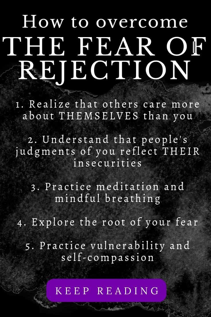 Fear of rejection and abandonment