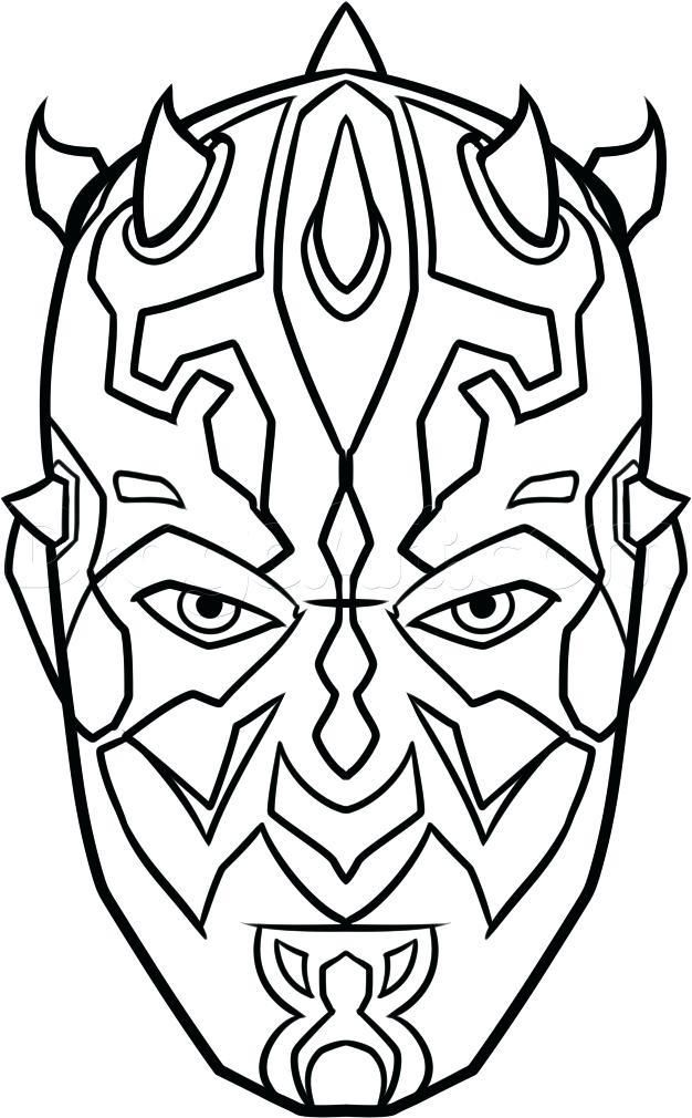 Darth Maul Coloring Maul Coloring Page Awesome Free Coloring Pages Star Wars Characters Drawings Star Wars Drawings Star Wars Painting