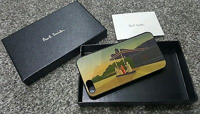 Paul Smith Retro Gas Station Print IPHONE 5/5s Phone Case RRP£60-RARE-BARGAIN