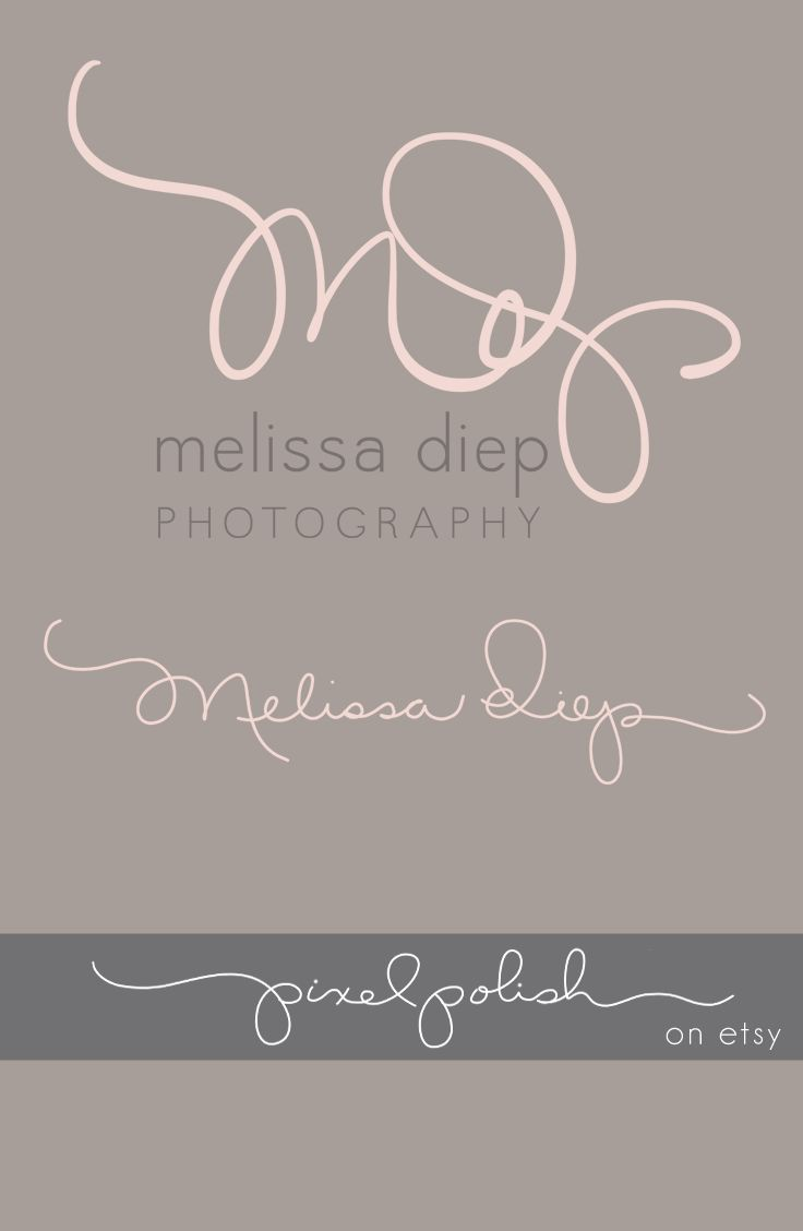 Handwritten initials, signature line.  Logo, watermark, blog header.
