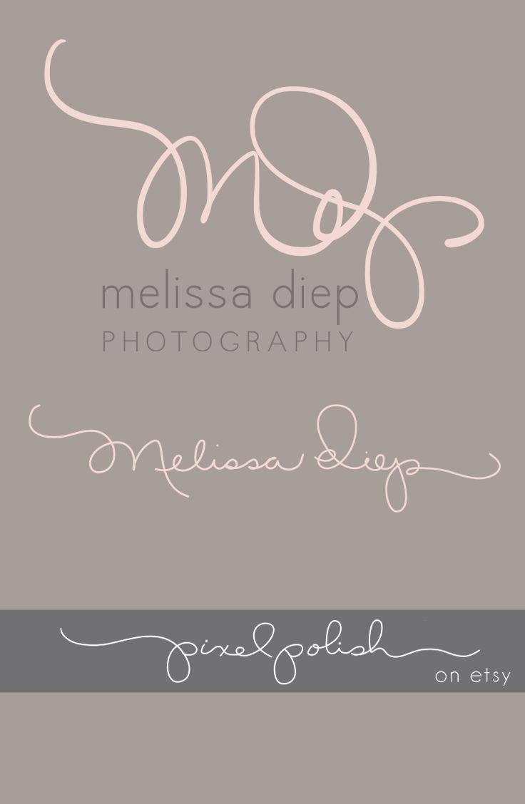 Handwritten initials, signature line. Logo, watermark, blog header.