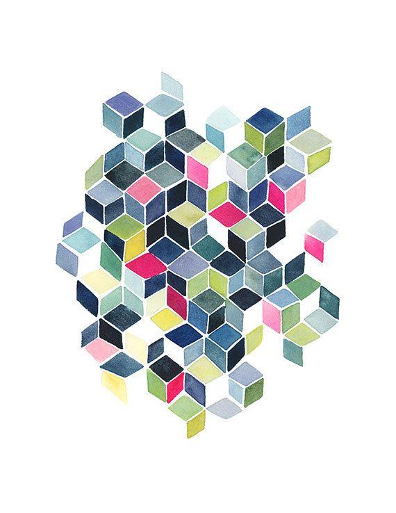 297 best ART \ DESIGN geometric images on Pinterest Cement - farben für küchen