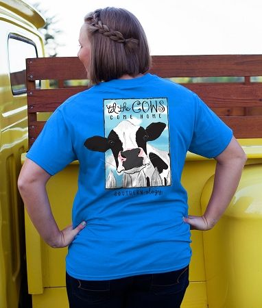 Southernology® Til The Cow Comes Home T Shirt | underthecarolinamoon.com