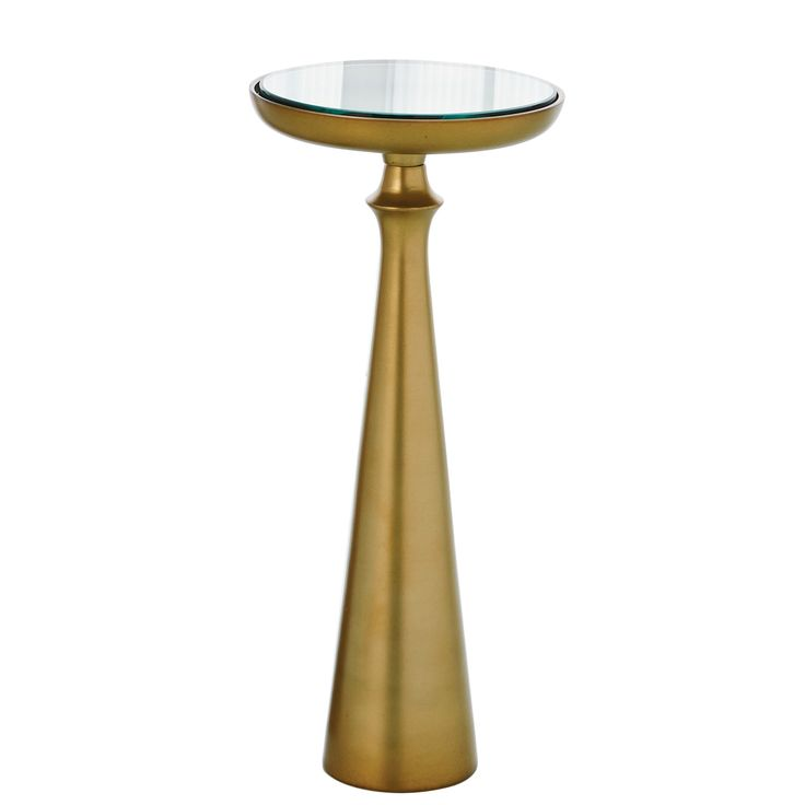 Studio A Minaret Satin Brass Small Accent Table SA790767. 17 Best ideas about Small Accent Tables on Pinterest   Silk floral