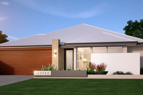 'The Jasper' by Choice by Projex is a great family home. This 4x2 with double garage and alfresco has a modern elevation and street appeal.