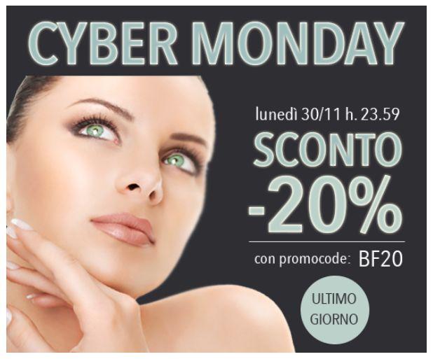 #CyberMonday! OGGI fino alle ore 23.59!   SCONTO del 20% inserendo il #promocode BF20 nel carrello! http://www.drtaffi.it/ Get your Cyber Monday #gift with the code BF20! #promo #sconti