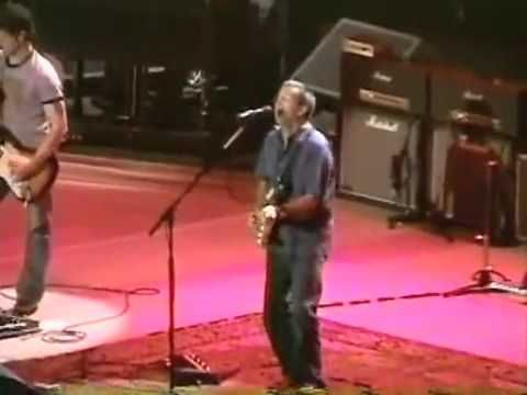 "Clapton was in the ""zone"" that night on this song, awesome version! I Shot The Sheriff - Live MSG 2004 - Eric Clapton"