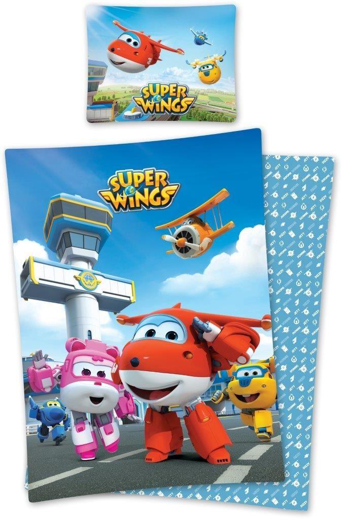 Dziecięca pościel 160x200 Super Wings