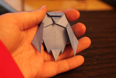 how to make an origami owl bookmark