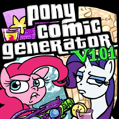 Pony Comic Generator v1.01 - Vacation Update by GingerFoxy.deviantart.com on @DeviantArt