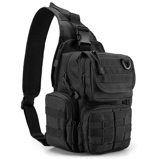 Tactical Backpack Multi-functional Molle Sling Backpacks One Strap Shoulder Bag