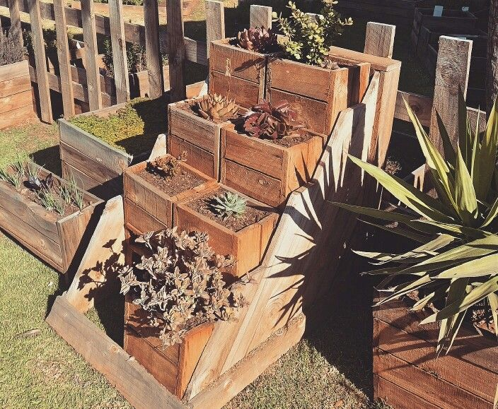 Happy Sunday Beasties xxx Came across these planters the other day, down the road from us, and just thought they were brilliant! #Plants #planters #haylsworld #succulents