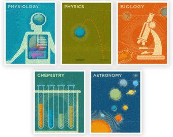 science mod art print - Google Search