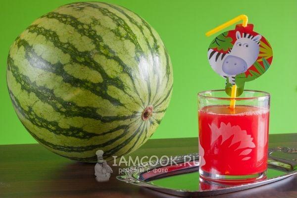 Фото арбузного сока