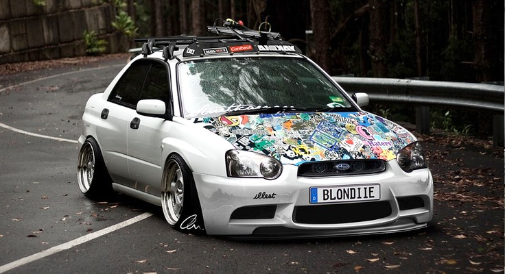 Flush Wrx Awesome Hood Cars Pinterest Sticker