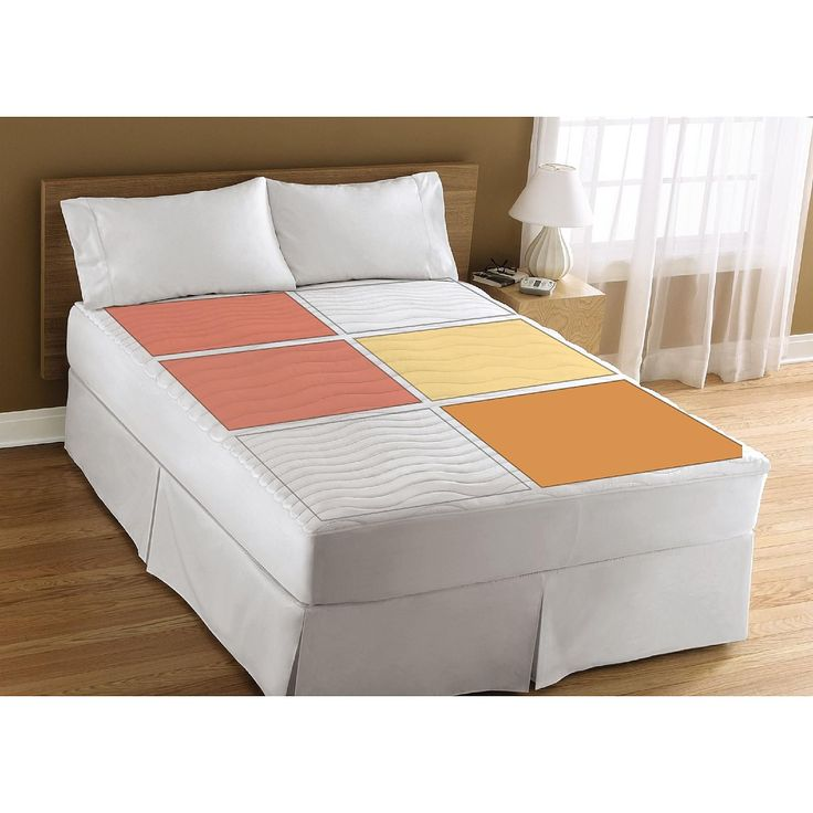 sunbeam therapeutic rest u0026 relieve heated mattress pad queen bed u0026 bath mattress