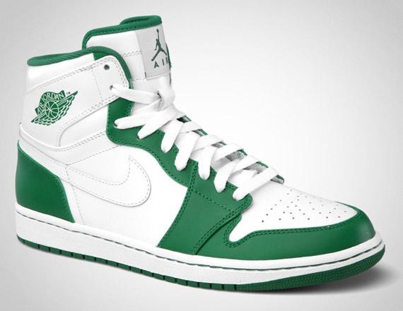 Air Jordan 1 x Retro High x Pine Green