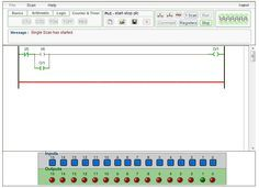 This online plc simulator free to publick is by plcsimulator.net (plcs.net)