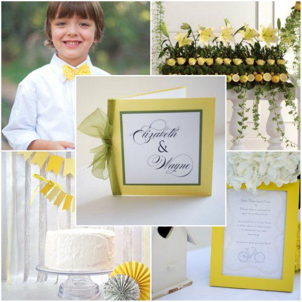 Gelb, Blau und Lila Hochzeit Ideen – 2014 Hochzeitsfarben ...