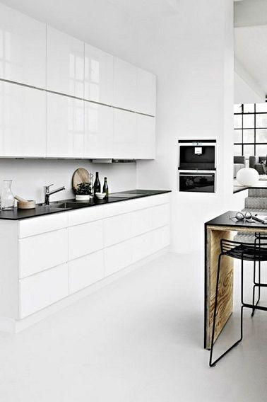 41 Best Cuisine Blanche // White Kitchen Images On Pinterest
