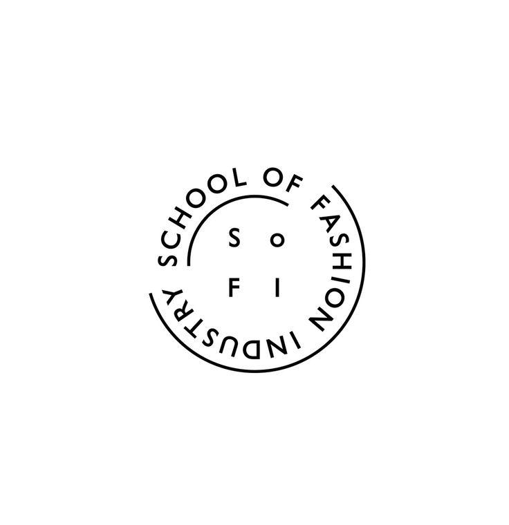 Sletten & Østvold, visual identity for School of Fashion Industry