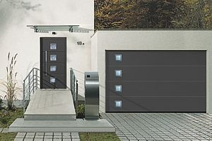 anthracite electric up and over grey garage doors - Google Search
