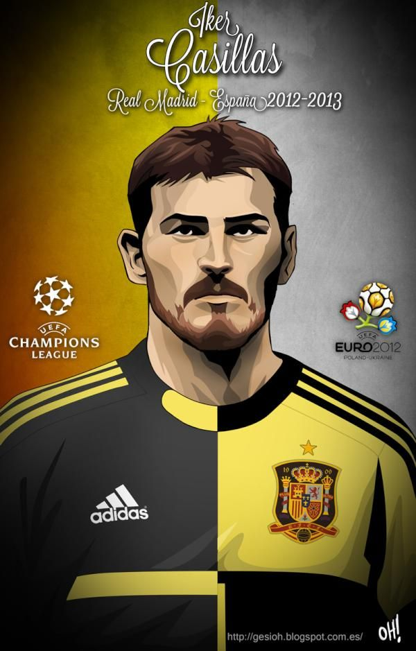 Íker Casillas, Real Madrid - Spain