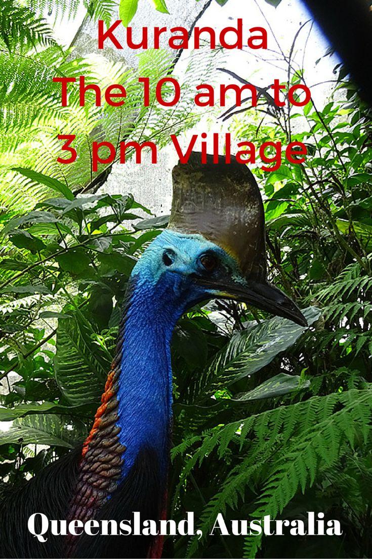 Kuranda The 10 am to 3 pm Village #Travel #Queensland #Australia