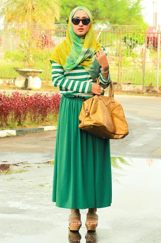 Dian Pelangi ❤ hijab style